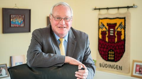 Büdingens Bürgermeister Erich Spamer
