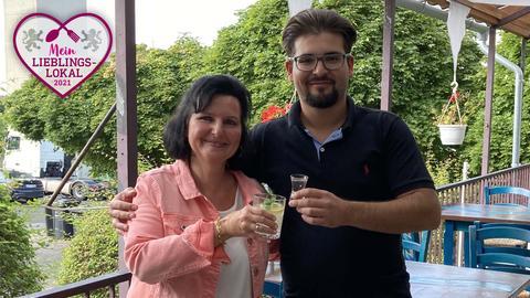 """Silke Bettenhausen und Konstantinos Xourgias von der """"Taverne Kreta"""" in Kassel"""