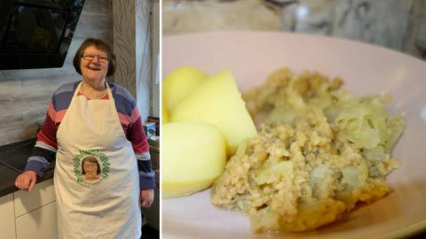 Herta Fleck aus Waldhof kocht für ihre Familie vegane Hausmannskost