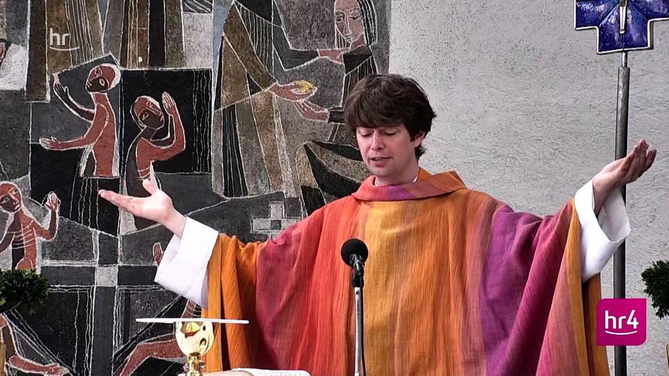 """Video: hr4-Gottesdienst am Pfingstsonntag - """"Wie klingt Pfingsten?""""    hr4.de   Programm"""
