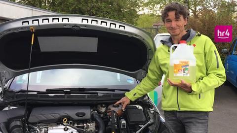 Autopflegetipps: Scheibenwaschanlage