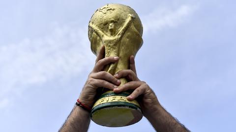 Der WM-Pokal