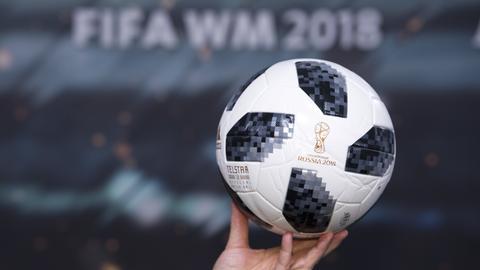 Fußball der WM 2018 in Russland
