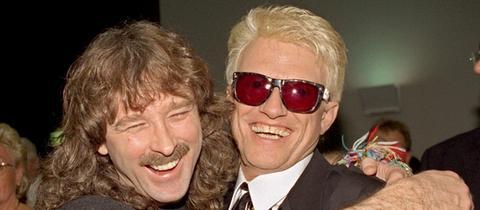 Wolfgang Petry und Heino auf dessen 60. Geburtstag 1998