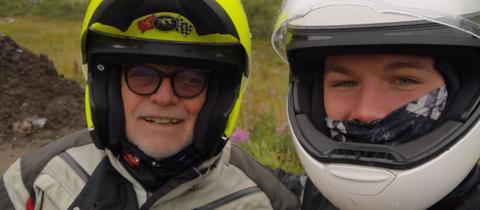 Reise von Hugo und Jan-Peer Eysel zum Nordkap