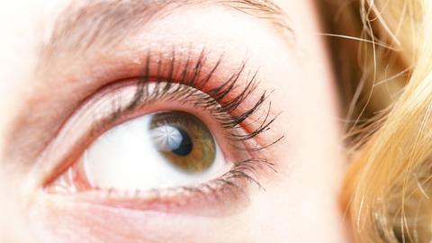 Augentraining entspannt die Augen