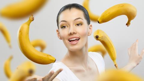 Bananen machen glücklich
