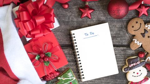 Eine Checkliste für Weihnachten