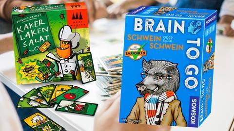 """Collage """"Kakerlakensalat"""" und """"Schwein oder nicht Schwein"""""""