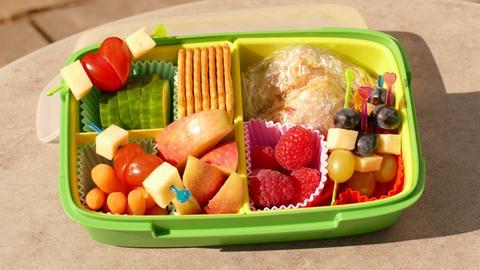 Eine prall gefüllte Bento-Box