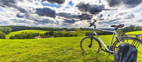 Aublick vom Fahrradweg