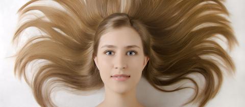Schöne Haarpracht