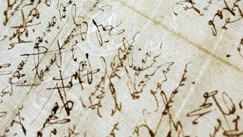 ein altes Schriftstück