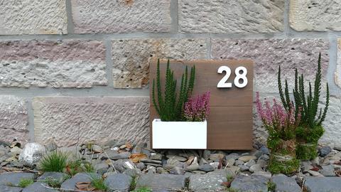 Hausnummer DIY