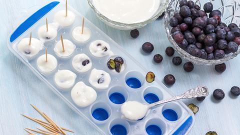 Heidelbeeren Joghurt