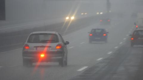 Auto mit Nebelschlussleuchte