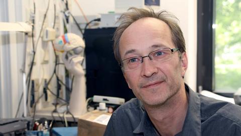 Professor Dr. Martin Grunwald von der Uni Leipzig