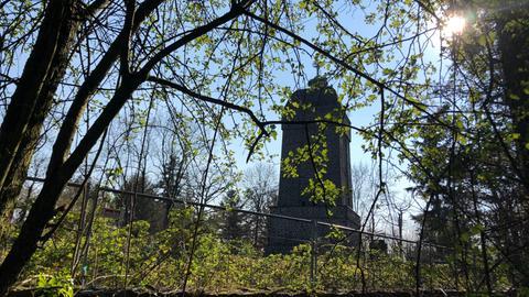 Sieben-Hügel-Steig bei Darmstadt - Bismarckturm