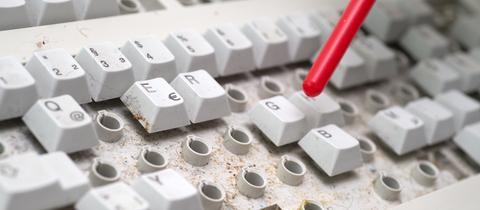 Tastatur Reinigung