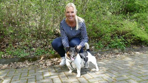 Milo mit Britta Wiegand