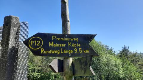 Wanderweg P12 Mainzer Köpfe