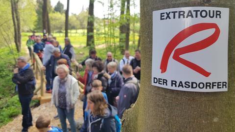 Wanderweg der Rasdorfer