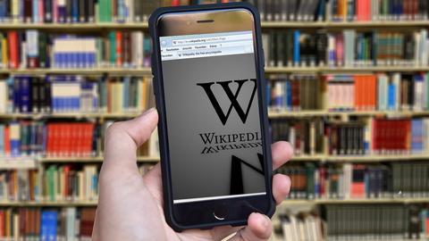 Wikipedia auf dem Smartphone