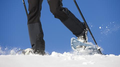 Winterspaß Schneeschuhwandern