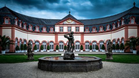 Das Schloss in Weilburg