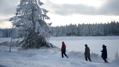 Winterspaß Hoher Meißner