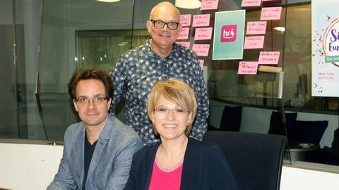 Die Jury: Frank Lauber, Andrea Ballschuh und Manfred Staiger