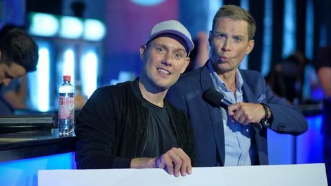 Oli P. und hr-Moderator Jens Kölker