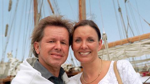 G.G. Anderson und Ehefrau Monika