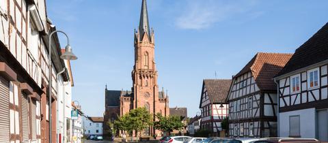 Evangelische Pfarrkirche Langstadt in Babenhausen-Langstadt