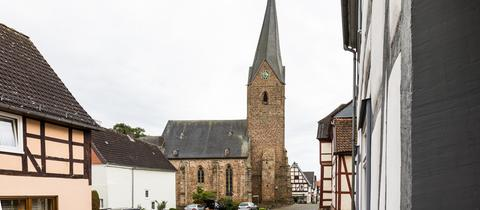 St. Georgs Kirche in Bad Arolsen Mengeringhausen