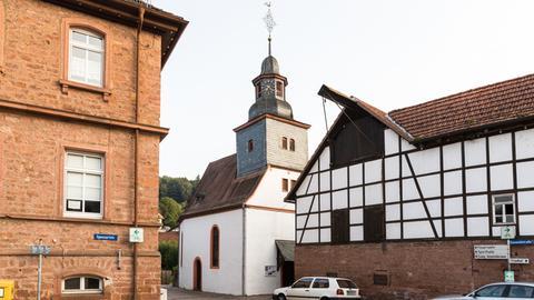 Ev. Kirche in Breuberg Wald-Amorbach