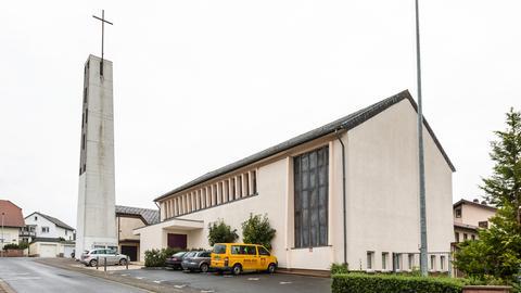 St. Familia-Kirche in Bruchköbel