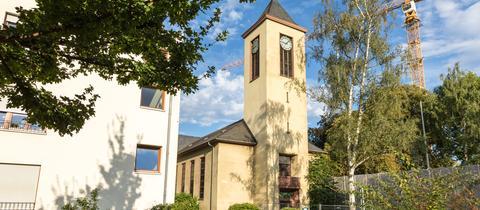 Mutterhauskirche / Kirche des Frankfurter Diakonissenhauses in Frankfurt-Nordend