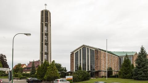 Rabanus-Maurus-Kirche in Petersberg