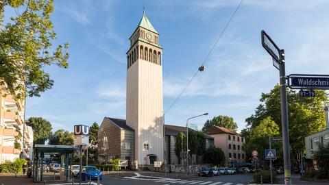 Neue St. Nicolai-Kirche in Frankfurt-Ostend