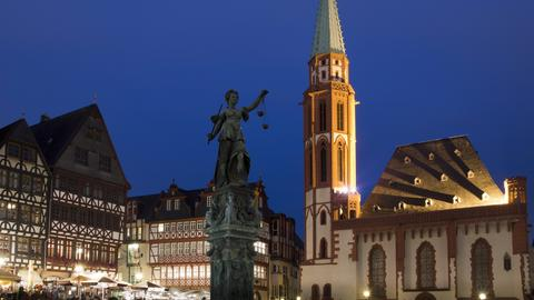 Alte Nikolaikirche in Frankfurt
