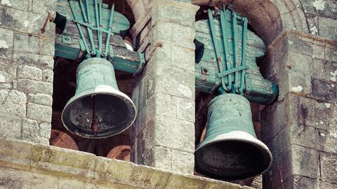 Glocken in Kirchturm