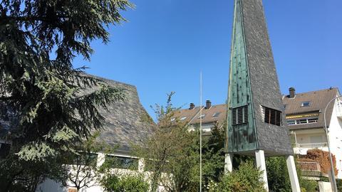 Johanneskirche Freigericht mit Glockenturm