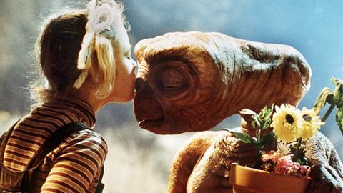 """Filmszene """"E.T. - Der Außerirdische"""""""