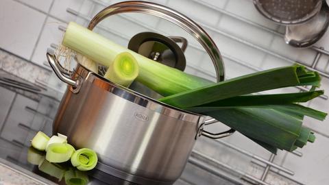 Gemüse im Kochtopf