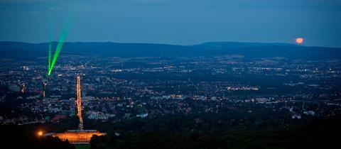 Der Laserscape in Kassel
