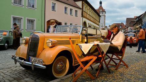 Oldtimer Opel Super 6