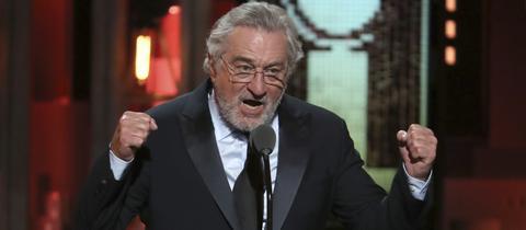 Robert de Niro bei der Verleihung der Tony-Awards
