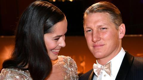Bastian Schweinsteiger und Ana Ivanovic