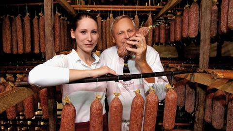 Katharina Koch und ihr Vater